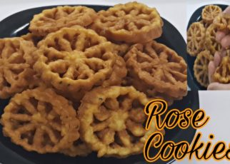 yt 76201 Easy Rose Cookies ll How to make Rose Cookies for Snacks 322x230 - Easy Rose Cookies ll How to make Rose Cookies for Snacks