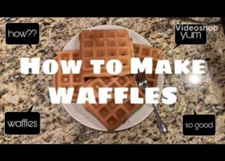 yt 76344 How to Make Waffles 322x230 - How to Make Waffles
