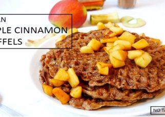 yt 98323 How to make vegan apple cinnamon waffles ASMR Healthy quick snack 322x230 - How to make vegan apple cinnamon waffles   ASMR   Healthy quick snack