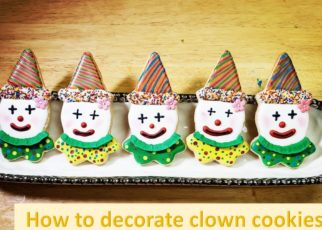 yt 99669 How to Make and Decorate Clown Cookies Great for Purim 322x230 - How to Make and Decorate Clown Cookies! (Great for Purim)