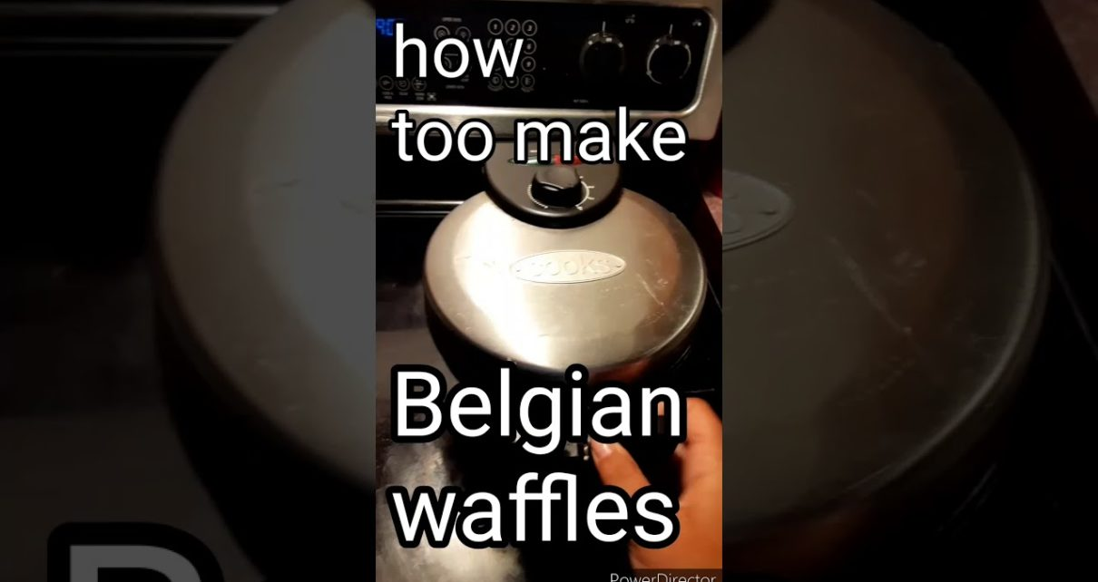 yt 210571 How too make Belgian waffles in less than 5 min 1210x642 - How too make Belgian  waffles  in less than 5 min