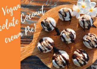 yt 210599 Easy Vegan no bake chocolate coconut cream pie 322x230 - Easy Vegan no bake chocolate coconut cream pie!