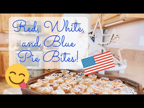 yt 210619 4TH OF JULY PIE BITES BAKE WITH ME  - 4TH OF JULY PIE BITES | BAKE WITH ME 😋