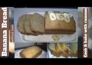 yt 210753 Banana Bread with out oven recipe by cook bake with rameen 322x230 - Banana Bread 🍞🍞😋with out oven recipe by cook & bake with rameen