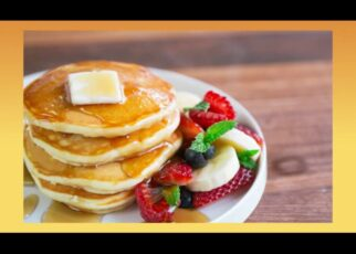 yt 210888 How to make DELICIOUS EASY pancakes 322x230 - How to make DELICIOUS & EASY pancakes!