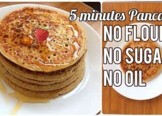 yt 210892 How to Make Easy Pancakes 5 Minutes Pancakes Recipe My Taste 322x230 - How to Make Easy Pancakes | 5 Minutes Pancakes Recipe | My Taste