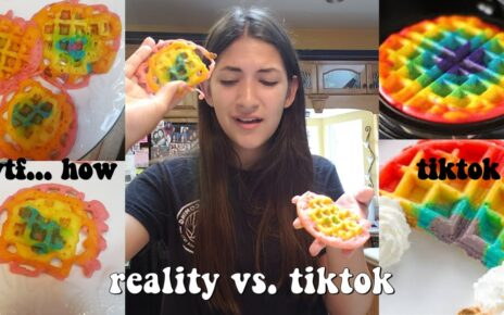 yt 210912 trying to make rainbow waffles from tiktok... epic fail 464x290 - trying to make rainbow waffles from tiktok... *epic fail*