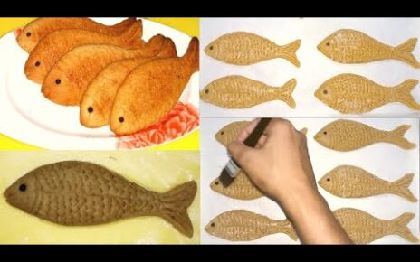 yt 210992 Fish design of butter cookies how to make design butter cookies biscuits 464x290 - Fish design of butter cookies | how to make design butter cookies biscuits