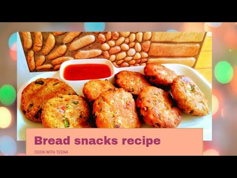 yt 211101 Bread snacksTea Time Snacks for kidzCook With Teena - Bread snacks|Tea Time Snacks for kidz|Cook With Teena