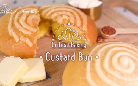 yt 211121 ASMR Baking Custard Cream BunBread 464x290 - ASMR Baking: Custard Cream Bun(Bread)