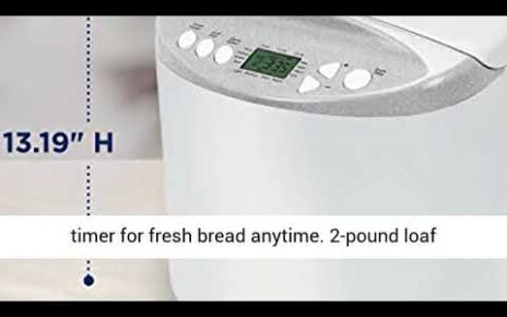 yt 211149 Oster Expressbake Bread Maker with Gluten Free Setting 464x290 - Oster Expressbake Bread Maker with Gluten-Free Setting