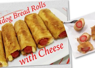 yt 212457 Hotdog Bread Roll with Cheese Easy to cook for snack 322x230 - Hotdog Bread Roll with Cheese| Easy to cook for snack