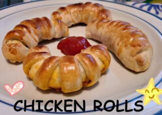 yt 213262 Chicken rolls Bread rolls Chicken pie Easy to cook Baking FUN Chicken croissant 322x230 - Chicken rolls| Bread rolls | Chicken pie |  Easy to cook | Baking FUN| Chicken croissant |