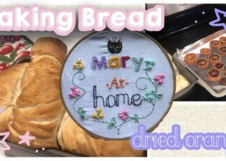 yt 213317 Baking Bread and Drying Oranges Mary At Home 322x230 - Baking Bread and Drying Oranges 🍊🏠Mary At Home