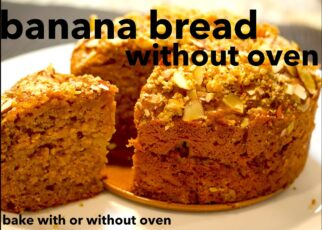 yt 214416 How to bake Banana Bread without oven Banana cake with no oven  322x230 - How to bake Banana Bread without oven | Banana cake with no oven|ஓவென் இல்லா வாழைப்பழ கேக் |केला केक