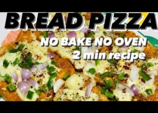 yt 215988 Bread pizzano bake no ovensimple 2 min recipe Yummy evening snack 322x230 - Bread pizza#no bake no oven#simple 2 min recipe!! Yummy evening snack#