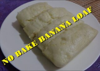 yt 221713 No Bake Banana Loaf Banana Bread Recipe 322x230 - No Bake Banana Loaf / Banana Bread Recipe
