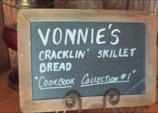 yt 223864 Vonnies Cracklin Skillet Bread in Cast Iron Pan 322x230 - Vonnie's Cracklin' Skillet Bread in Cast Iron Pan