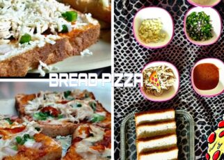 yt 224167 Bread Pizza RecipeChicken Cheese Bread PizzaCook With FS  322x230 - Bread Pizza Recipe|Chicken Cheese Bread Pizza|Cook With FS ♥️