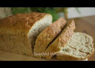 yt 224216 Wholemeal BreadMulti Seeded Wholemeal Bread Easy Bread RecipeHome Baking 322x230 - Wholemeal Bread/Multi Seeded Wholemeal Bread/ Easy Bread Recipe/Home Baking