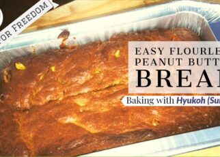 yt 224619 Easy Flourless Peanut Butter Bread Baking with HYUKOH Surf Boy 322x230 - Easy Flourless Peanut Butter Bread---Baking with HYUKOH (Surf Boy)