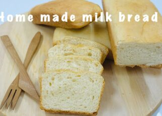yt 224639 Baking class part 9 Home made milk breadBakery style bread recipe with oven and without oven 322x230 - Baking class part 9-Home made milk bread/Bakery style bread recipe with oven and without oven