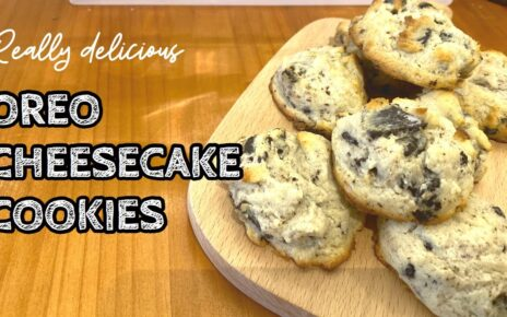 yt 224820 Oreo Cheesecake Cookie How to make the best cookie easy recipe using 6 ingredients 464x290 - Oreo Cheesecake Cookie | How to make the best cookie easy recipe using 6 ingredients