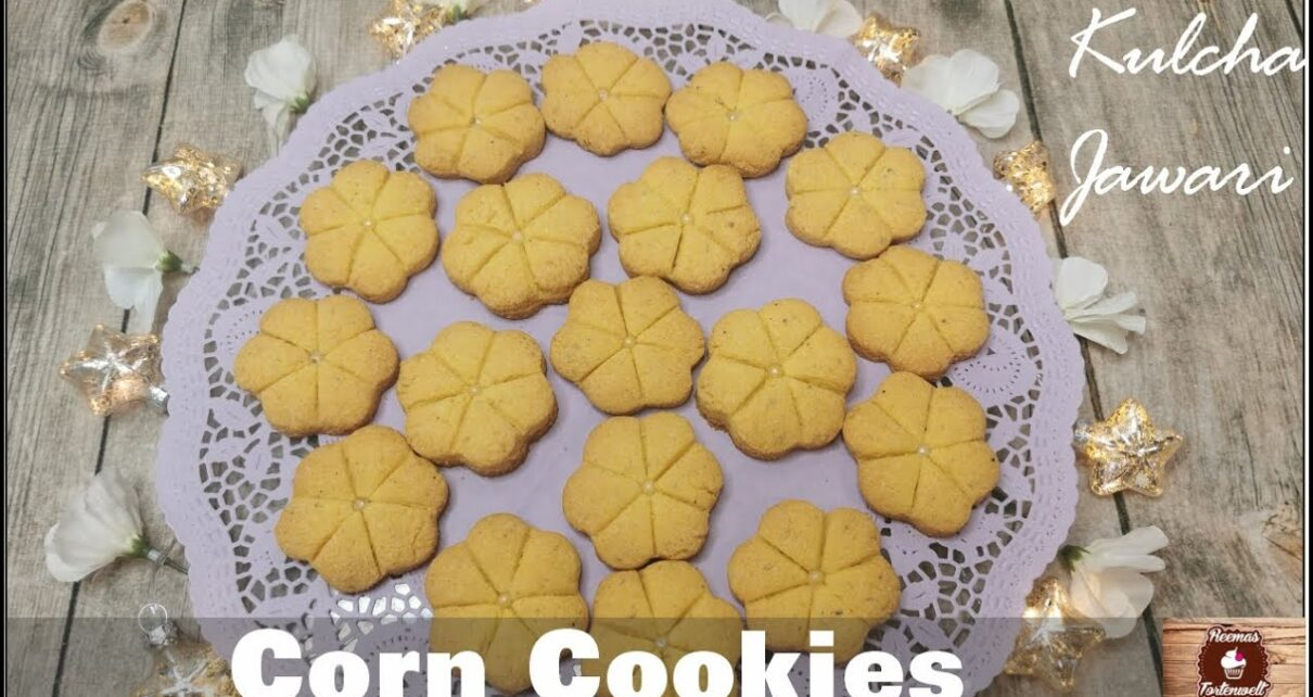 yt 224848 Corn Cookies Kulcha Jawari Homemade Cookies how to bake Cookies at home 1210x642 - Corn Cookies / Kulcha Jawari / Homemade Cookies / how to bake Cookies at home?