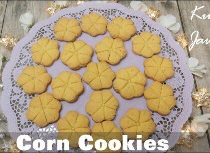 yt 224848 Corn Cookies Kulcha Jawari Homemade Cookies how to bake Cookies at home 420x307 - Corn Cookies / Kulcha Jawari / Homemade Cookies / how to bake Cookies at home?