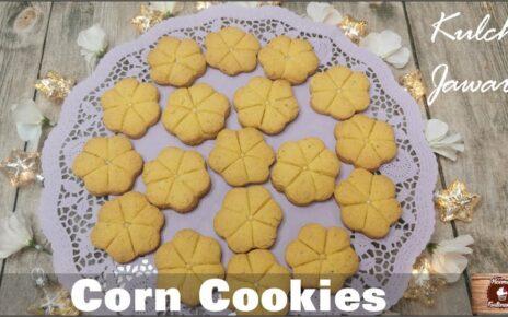 yt 224848 Corn Cookies Kulcha Jawari Homemade Cookies how to bake Cookies at home 464x290 - Corn Cookies / Kulcha Jawari / Homemade Cookies / how to bake Cookies at home?