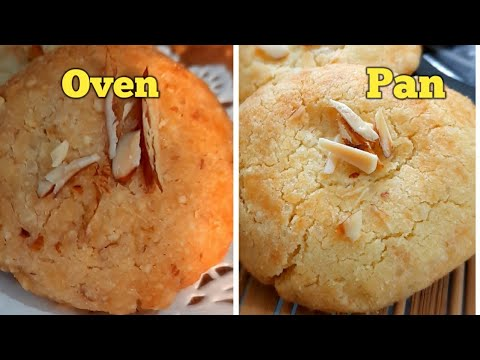 yt 224852 How to make almond cookiescookies in pan in oven4 ingredients cookieseggless almond cookies - How to make almond cookies,cookies in pan &in oven,4 ingredients cookies,eggless almond cookies.