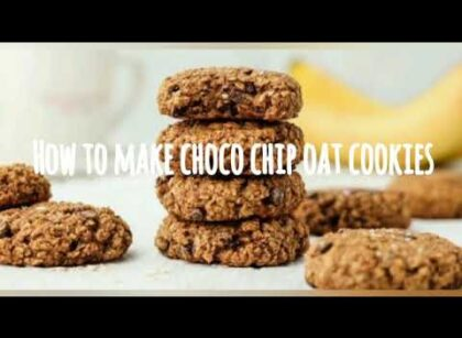 yt 224856 How to make healthy choco chip oats cookies 420x307 - How to make healthy choco chip oats cookies