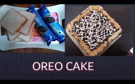 yt 224957 BREAD CAKE WITH OREO CHOCOLATE CAKE RECIPE NO BAKE 464x290 - BREAD CAKE WITH OREO |CHOCOLATE CAKE RECIPE | NO BAKE  |