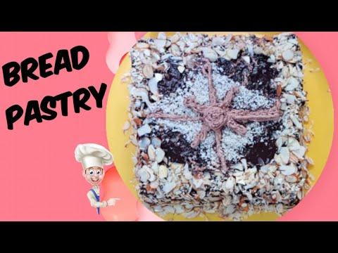 yt 224961 No bake bread pastry15mins  - No bake bread pastry|15mins లో బ్రెడ్ తో  కేక్ తయారు చేసేయండి|