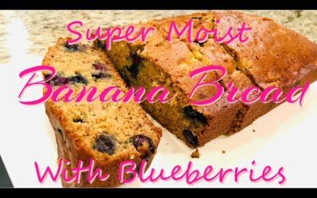 yt 224976 HOW TO BAKE THE SUPER MOIST BANANA BREAD WITH BLUEBERRIES SUPER MOIST AND SOFT BANANA BREAD 464x290 - HOW TO BAKE THE SUPER MOIST BANANA BREAD WITH BLUEBERRIES// SUPER MOIST AND SOFT BANANA BREAD