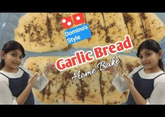 yt 225314 Garlic Bread ll Dominos Style ll Home Bake 322x230 - Garlic Bread ll Domino's Style ll Home Bake