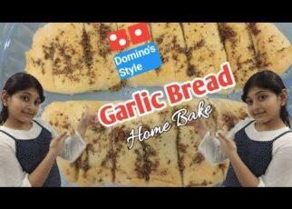 yt 225314 Garlic Bread ll Dominos Style ll Home Bake 322x230 - Garlic Bread ll Domino's Style ll Home Bake