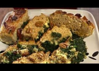 yt 226053 Cook With Me Low fat and healthy Spinach Feta Cheese BreadLoaf 322x230 - Cook With Me - Low fat and healthy Spinach & Feta Cheese Bread/Loaf