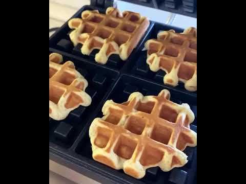 yt 237554 Lets make lean vegan waffles recipe - Приготовим постные (веганские) вафли, рецепт / Let's make lean (vegan) waffles, recipe /