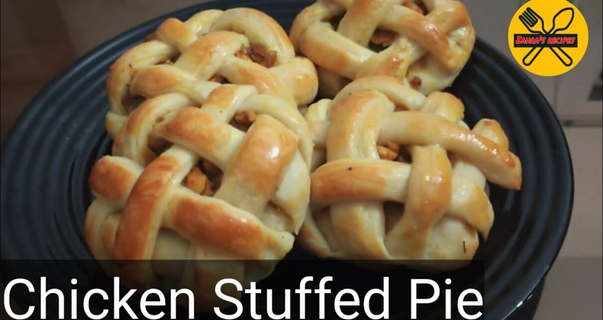 yt 237917 chicken stuffed pie Baked without oven zahras recipes 1210x642 - chicken stuffed pie | Baked without oven | zahra's recipes