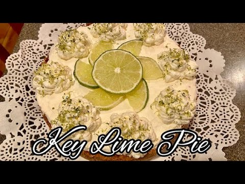 yt 237921 DELICIOUS KEY LIME PIE BAKED IN THE NINJA FOODI - DELICIOUS KEY LIME PIE *BAKED IN THE NINJA FOODI