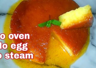 yt 238075 Eggless caramel bread custard puding NO STEAM CUSTARD PUDING lets cook with MaHiRa 322x230 - Eggless caramel bread custard puding | NO STEAM CUSTARD PUDING | let's cook with MaHiRa