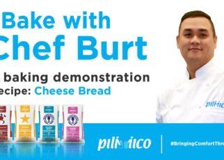 yt 238123 Bake with Chef Burt Cheese Bread 322x230 - Bake with Chef Burt - Cheese Bread