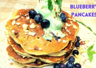 yt 238173 Fluffy Blueberry Pancakes How to make Pancakes 322x230 - Fluffy Blueberry Pancakes / How to make Pancakes
