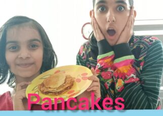 yt 238204 Lets cook something How to make pancakes at home easy recipe for kids The Pareek sisters 322x230 - Let's cook something / How to make pancakes at home / easy recipe for kids /The Pareek sisters