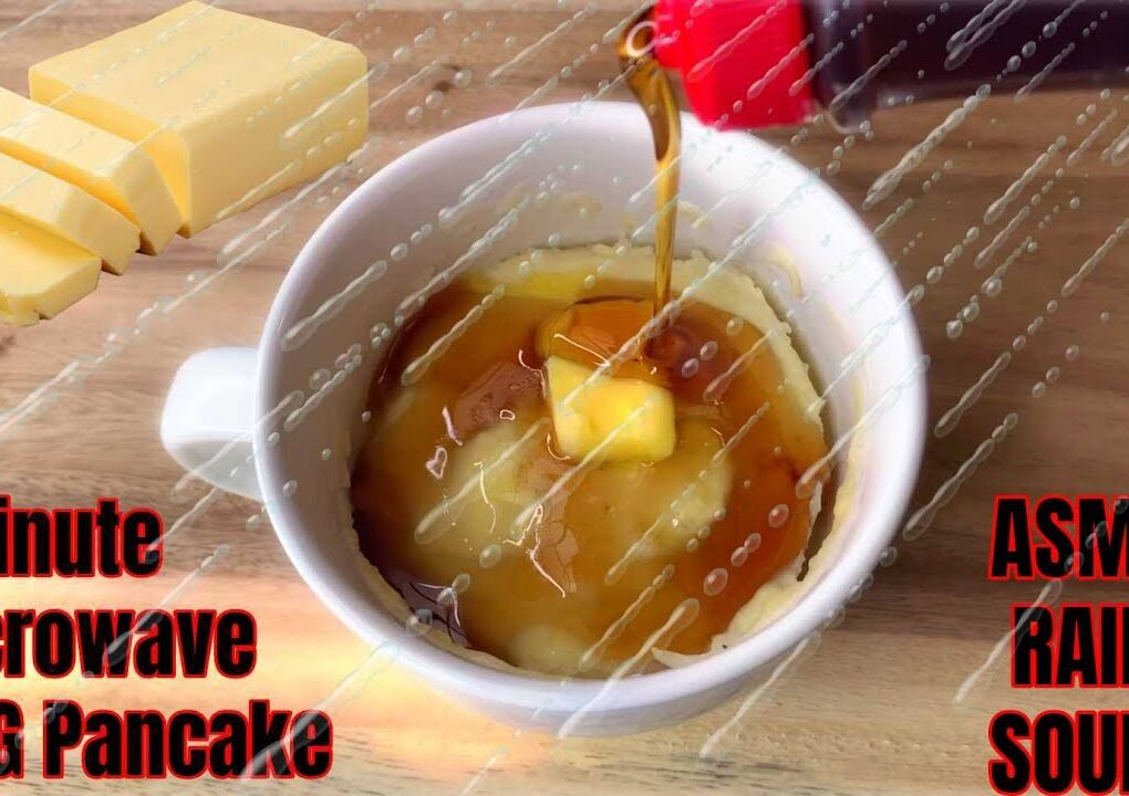 yt 238216 ASMR Baking Pancakes With Rain Sounds 1 Minute Microwave MUG Pancakes Recipe So relaxing 1020x720 - ASMR Baking Pancakes With Rain Sounds, 1 Minute Microwave MUG Pancakes Recipe So relaxing