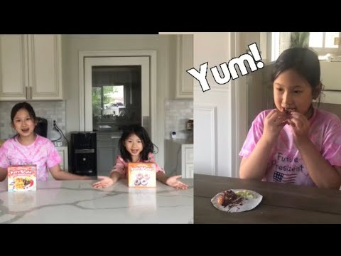 yt 238244 Making kracie candy kits How to make Tonoshi waffles and donuts Agnes and Anna - Making kracie candy kits!!! How to make Tonoshi waffles and donuts!!! Agnes and Anna