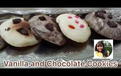 yt 238297 How to bake cookies at home Vanilla and Chocolate Cookies Cookies Reciep 464x290 - How to bake cookies at home  Vanilla and Chocolate Cookies  Cookies Reciep