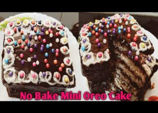 yt 238428 Oreo Bread Cake No bake Bread Oreo Cake Recipe Mini cake 322x230 - Oreo Bread Cake | No bake Bread Oreo Cake Recipe | बिना गैस जलाए मिनटों में बनाए केक | Mini cake |