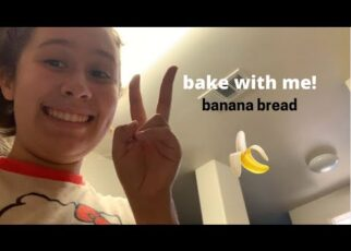yt 238450 bake with me banana bread recipe carina sara 322x230 - bake with me! (banana bread recipe) - carina sara